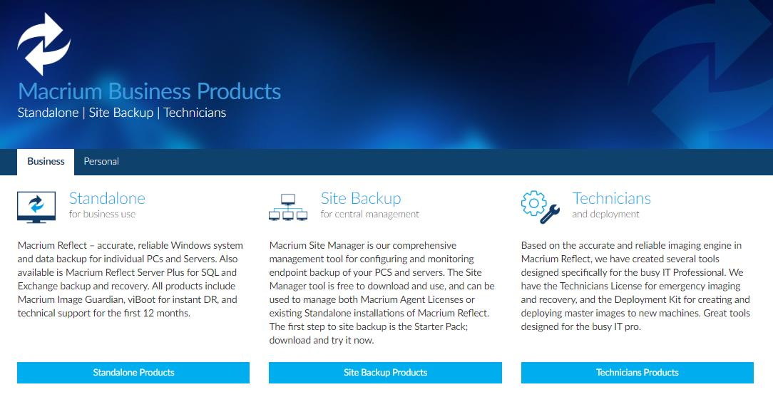 Acronis VS Macrium Reflect (2019) Recovery Tools Comparison