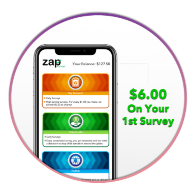 Zap Surveys  Review-bavs it is a surveys app.